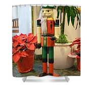 Christmas Sentinel No 2 Shower Curtain