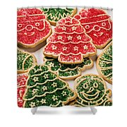 Christmas Sugar Cookies Shower Curtain