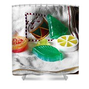 Christmas Thoughts Soap Shower Curtain