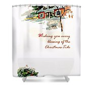 Christmas Tide Shower Curtain