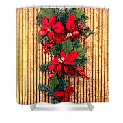 Christmas Wall Hanging Shower Curtain