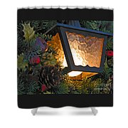 Christmas Welcome Shower Curtain