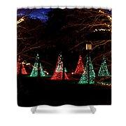 Christmas Wonderland Walk Shower Curtain