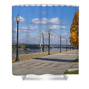 Christopher S. Bond Bridge Shower Curtain