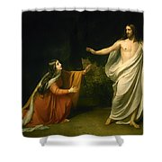 Christs Appearance To Mary Magdalene After The Resurrection Shower Curtain