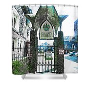Christ's College Canterbury Shower Curtain