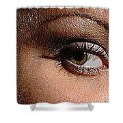 Christy Eyes 89 Shower Curtain