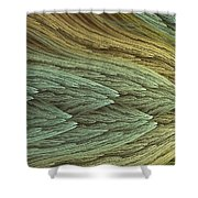 Chromatic Appeal Shower Curtain