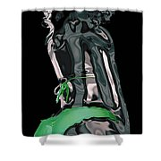My Chrome Assets 1 Shower Curtain