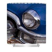 Chrome Inside Chrome On Rust   #4780 Shower Curtain