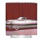 Chrysler 50's Concept Shower Curtain
