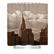 Chrysler Building And The New York City Skyline Shower Curtain