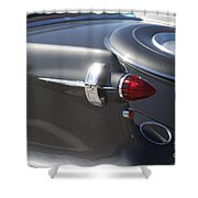 Chrysler Imperial Taillight Shower Curtain