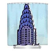 Chrysler Spire Nyc Usa Shower Curtain