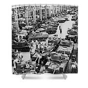 Chrysler Tank Plant Shower Curtain