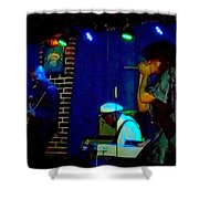 Chuck Berry Fam Jam Shower Curtain