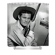 Chuck Connors - The Rifleman Shower Curtain