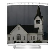 Church 2 Shower Curtain