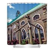 Church 5 Shower Curtain