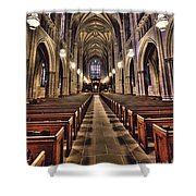 Church Aisle Shower Curtain