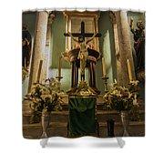 Church Altar Shower Curtain