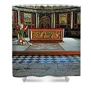 Church Alter Provence France Shower Curtain