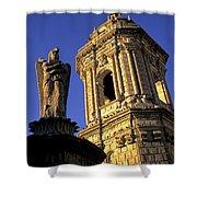 Church Arequipa Peru Shower Curtain