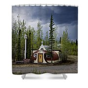 Church Beaver Creek Yukon Shower Curtain