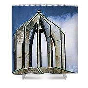 Church - Tower Bell - Luther Fine Art Shower Curtain
