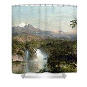 Church: Cotopaxi, 1857 Shower Curtain