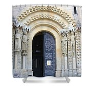Church Door - Cathedral Bamberg - Germany Shower Curtain