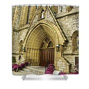 Church Door Shower Curtain