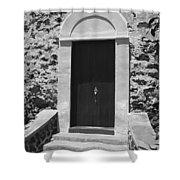 Church Door Hawaii Shower Curtain
