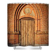 Church Door Helsingborg Shower Curtain