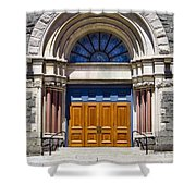 Church Doors Shower Curtain