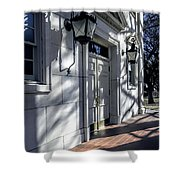 Church Doorway Shower Curtain