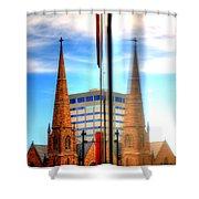 Church Downtown Denver 5074 Shower Curtain