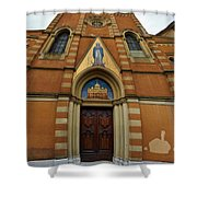 Church Entrance. Palazzolo Shower Curtain