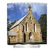 Church In Berrima A Town In Regional New South Wales Australia Shower Curtain