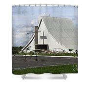 Church In Brazilia Shower Curtain