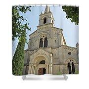 Church In Gordes Shower Curtain