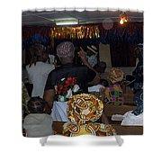 Church In Nigeria Shower Curtain