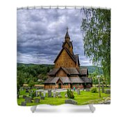 Church In Norway Shower Curtain