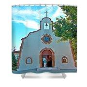 Church In San Carlos-sonora Shower Curtain