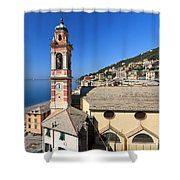 church in Sori Shower Curtain