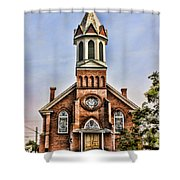 Church In Sprague Washington 2 Shower Curtain