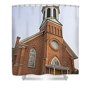 Church In Sprague Washington 3 Shower Curtain