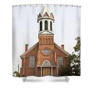Church In Sprague Washington Shower Curtain