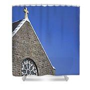 Church In Tacoma Washington 2 Shower Curtain