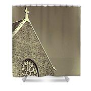 Church In Tacoma Washington 3 Shower Curtain